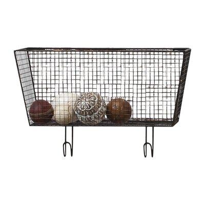Gallery Small Wire Basket Wall Shelf