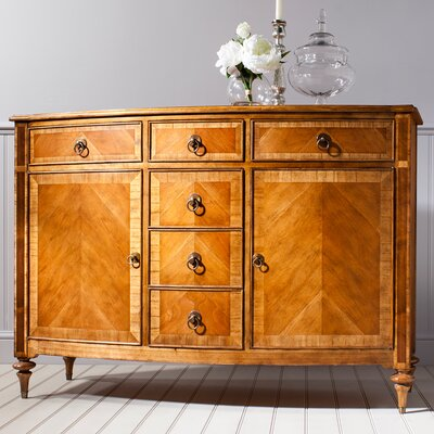 Gallery Parisian House 2 Door 6 Drawer Sideboard