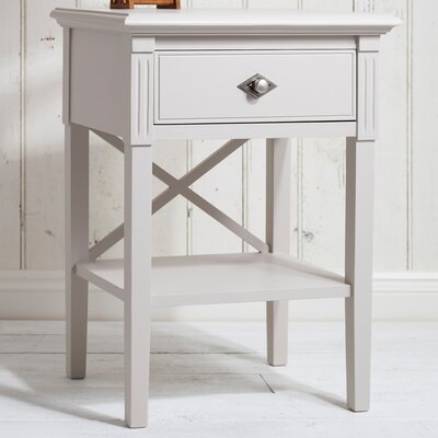 Gallery Parisian House 1 Drawer Bedside Table