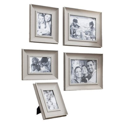 Gallery Monza 5-Piece Edgewood Picture Frame Set