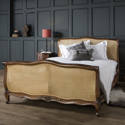 Gallery Parisian House Louis XV King Bed Frame