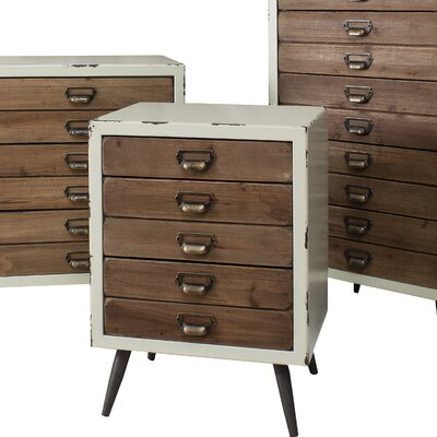 Gallery Maywood 5 Drawer Chest of Drawers