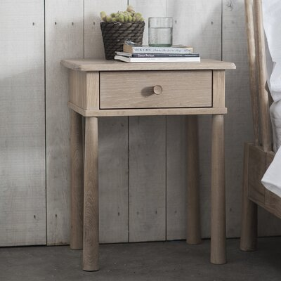 Gallery Wycombe 1 Drawer Bedside Table