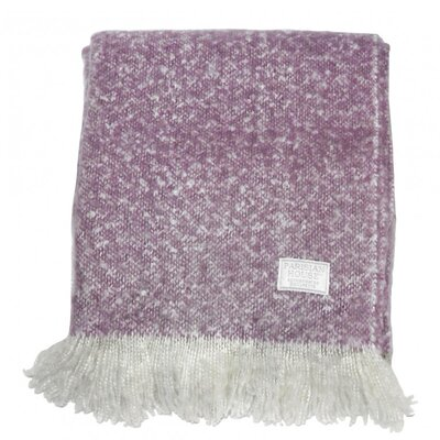 Gallery Chic Faux Mohair Throw