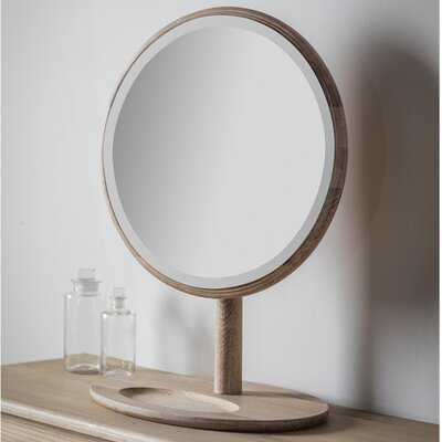 Gallery Wycombe Round Dressing Table Mirror
