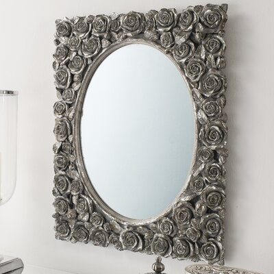 Gallery Roses Rectangle Wall Mirror