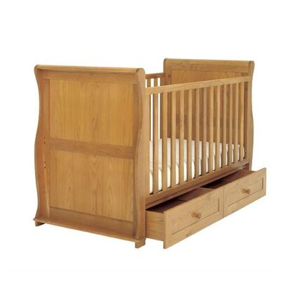 East Coast Sleigh 2-in-1 Convertible Cot