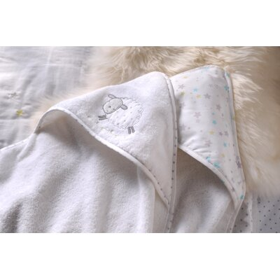 East Coast 2 Piece Counting Sheep Cuddle Robe Set