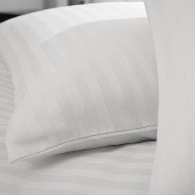 Charlotte Thomas Cotton Rich Satin Stripe Housewife Pillowcase