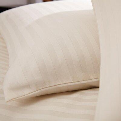 Charlotte Thomas Cotton Rich Satin Stripe Oxford Pillowcase