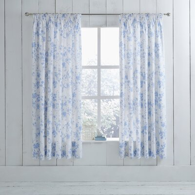 Charlotte Thomas Amelie Lined Pencil Pleat Curtains