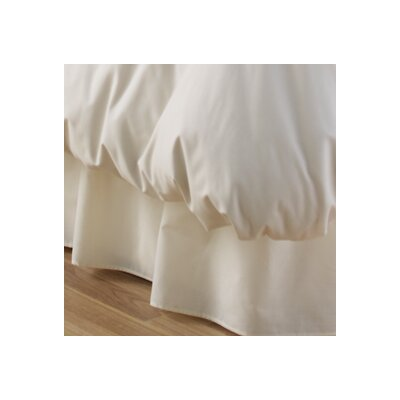 Charlotte Thomas Percale Plain 180 Thread Count Fitted Valance
