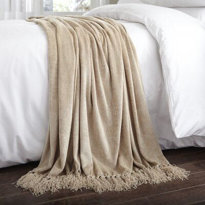 Charlotte Thomas Chenille Throw Blanket