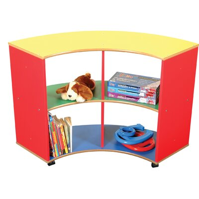 Liberty House Toys Primary Coloured 70cm Book Cart