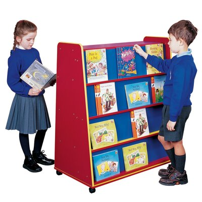 Liberty House Toys Primary Coloured 117cm Book Cart