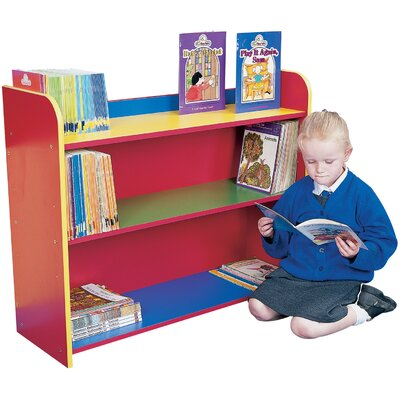 Liberty House Toys Primary Coloured 72.5cm Bookcase