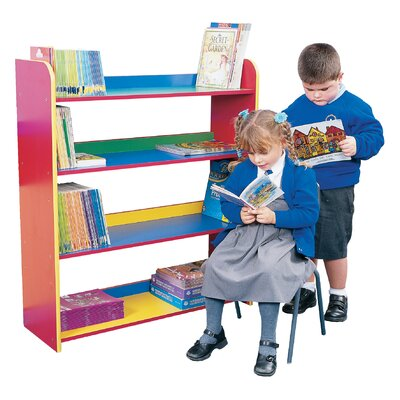 Liberty House Toys Primary Coloured 102.5cm Bookcase