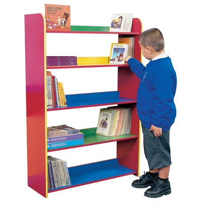 Liberty House Toys Primary Coloured 132.5cm Bookcase