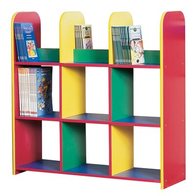 Liberty House Toys Primary Coloured Book 90cm Cube Unit