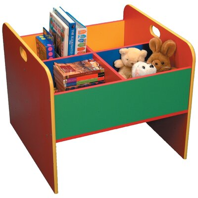 Liberty House Toys Primary Coloured 58cm Book Display