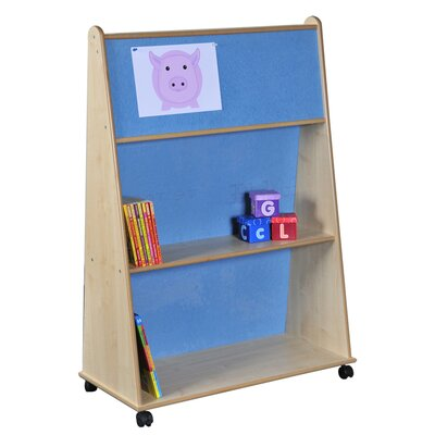 Liberty House Toys Wedge 120cm Book Display with Pin Board