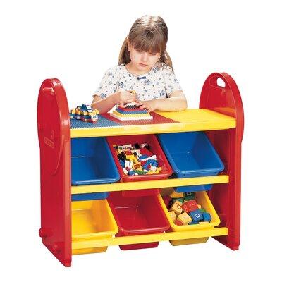 Liberty House Toys Six Bin Storage Organiser