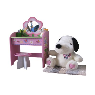 Liberty House Toys Fairy Dressing Table Set with Mirror