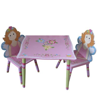 Liberty House Toys Fairy Children's 3 Piece Table and Chair Set