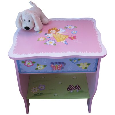 Liberty House Toys Fairy 1 Drawer Bedside Table