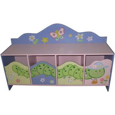 Liberty House Toys Butterfly Garden 4-Door Cabinet