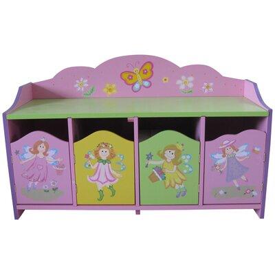 Liberty House Toys Fairy 4-Door Cabinet