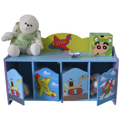Liberty House Toys Transport 4-Door Cabinet