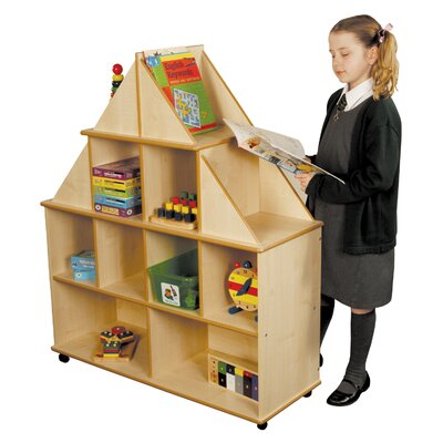 Liberty House Toys Gable End 122cm Book Cart