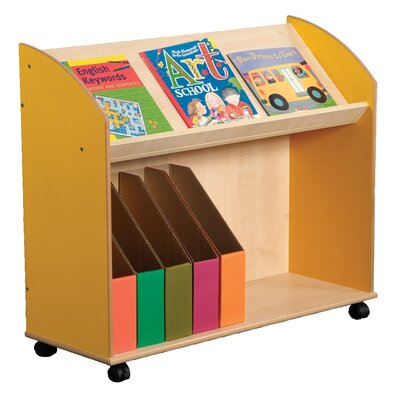Liberty House Toys Primary Coloured 76cm Book Cart