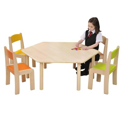 Liberty House Toys Children's Hexagon Arts and Crafts Table