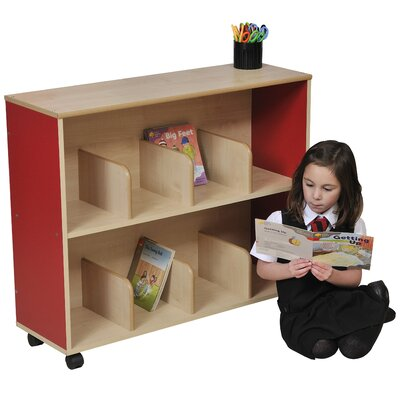 Liberty House Toys Primary Coloured Childrens 75cm Bookcase
