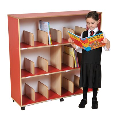 Liberty House Toys Primary Coloured Childrens 113cm Bookcase