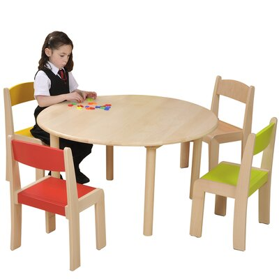 Liberty House Toys Children's Round Arts and Crafts Table