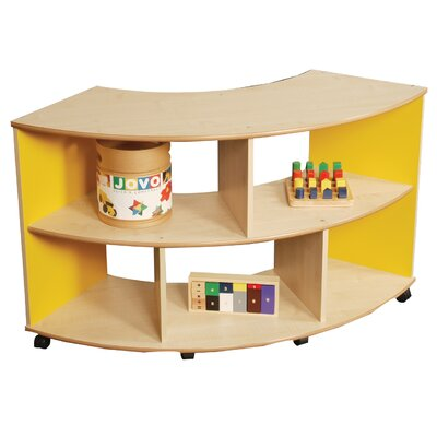 Liberty House Toys Primary Coloured Small Mix and Match Quadrant Unit