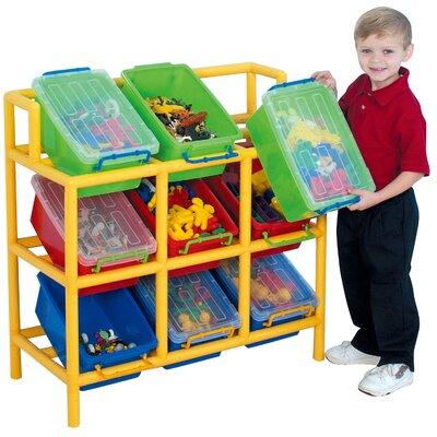 Liberty House Toys 9 Bin Tilt Storage Unit