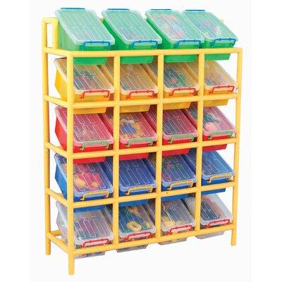 Liberty House Toys 20 Bin Tilt Storage Unit