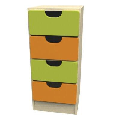 Liberty House Toys Novo 4 Drawer Storage Unit