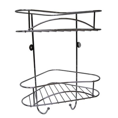 Crannog Neue Design Metal Wall Mounted Shower Caddy
