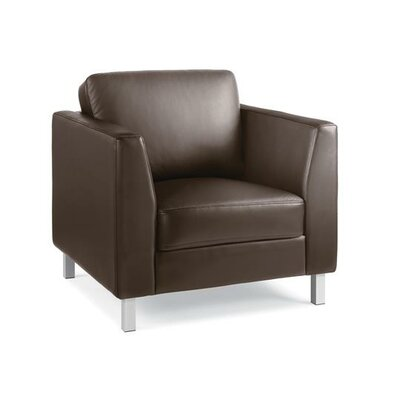 Lincoln Leather Lounge Chair Leather Color: Turnstone Leather - Brown