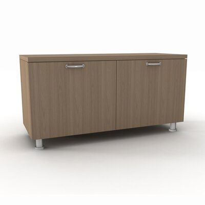 """Currency 36"""" Storage Cabinet Pull Style: Black Handles, Finish: Arctic White, Cabinet Style: 36"""""""