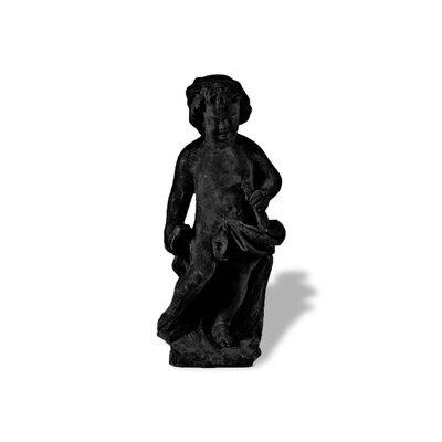 Amedeo Design ResinStone Cherub Sculptor Statue
