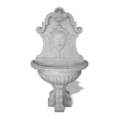 ResinStone Asian Wall Fountain Color: Lead Gray
