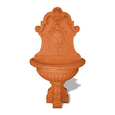 ResinStone Asian Wall Fountain Color: Terra Cotta