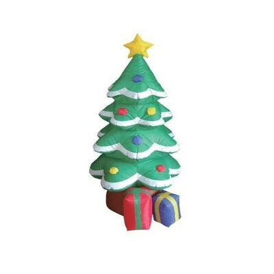 BZB Goods Christmas Inflatable Frosted Tree Decoration