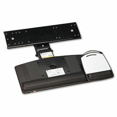 3M Positive Locking Keyboard Tray, Highly Adjustable Platform
